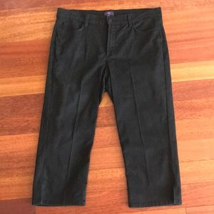 Not Your Daughter's Jeans Black Crop Jeans - 14